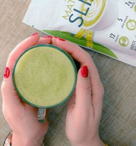 matcha slim green tea powder