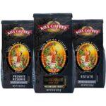 medium roast ground coffee koa
